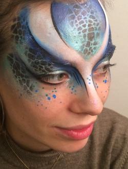 Reptile Face Paint