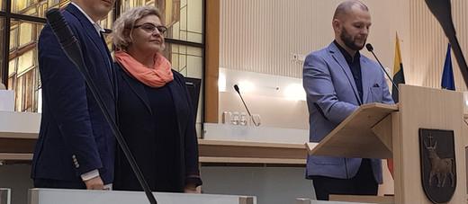 Išrinktas naujas Kleboniškio seniūnaitis