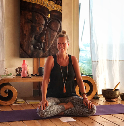 Hatha-, yin- en  kinderyoga docente An Lamberechts
