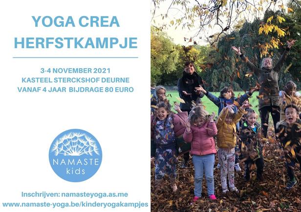 Yoga-crea kampje