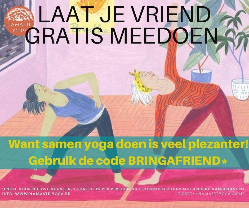 Laat je vriend gratis meedoen