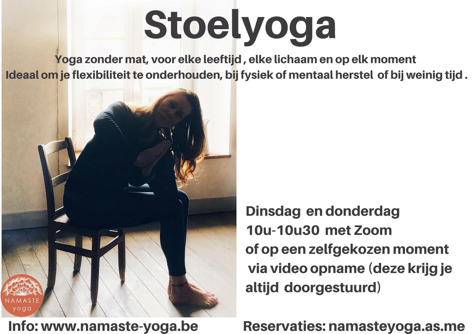 Stoelyoga