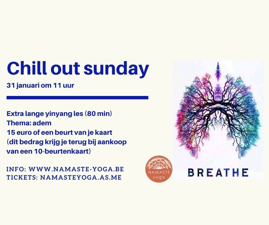 Chill out sunday op 31/1