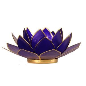 Lotusbloem sfeerlicht indigo