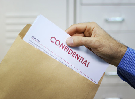 Honoring Our Right to Confidentiality