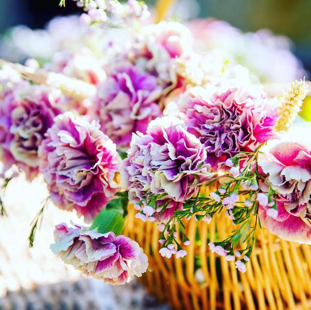 FLOWER BASKET - ENGLISH PETAL & HERB