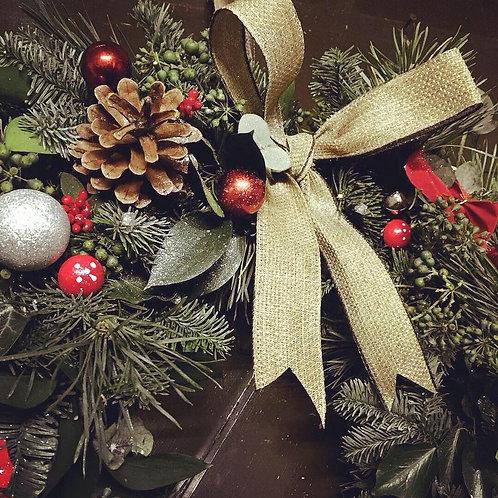 Etonbury Private Christmas Wreath Workshops