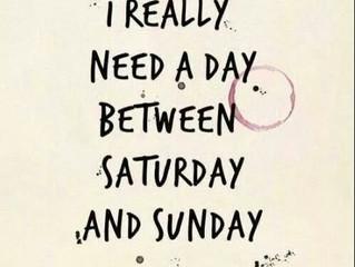 More Weekend