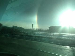 Snow Rainbow