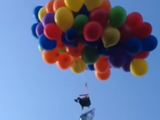 Up, Up, Up and Away