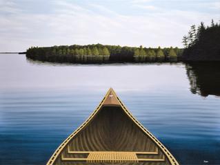 Canoeing Calm
