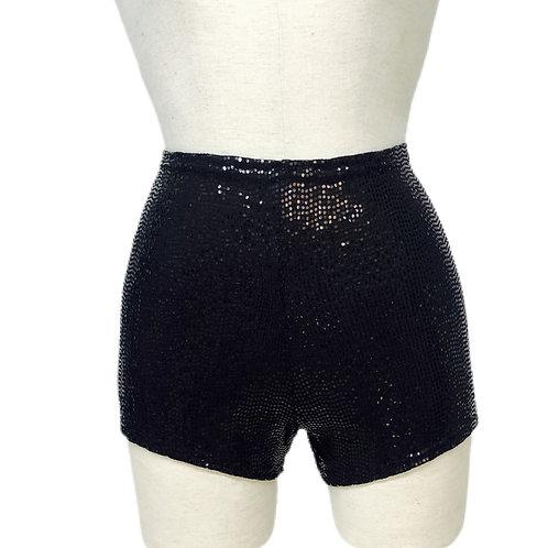 Disco Fever Black shorts