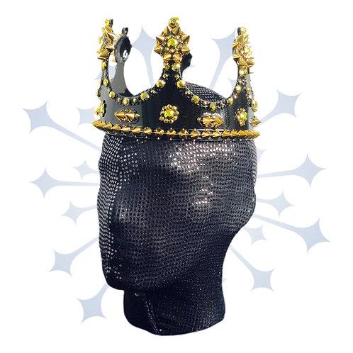 King Crown- Black & Gold