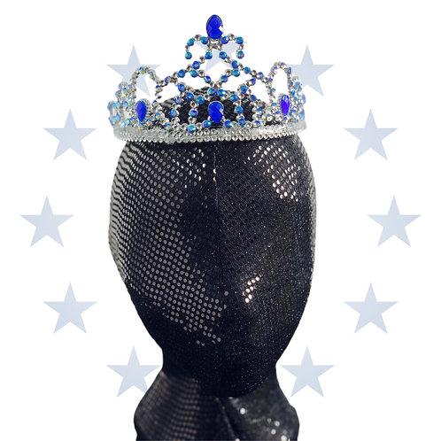 Ice blue Crown