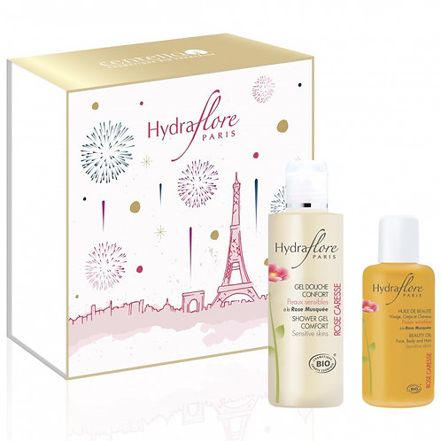 Coffret Corps Rose Caresse