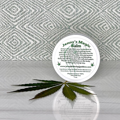 Heals dry cracked hands, Hemp Seed Oil, Organic, heals sensitive skin, chemical free, body balm, body moisturizer