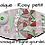"""Thumbnail: KIT MOSAIQUE/PAPIER DECORATIFS / """"ROSY"""""""