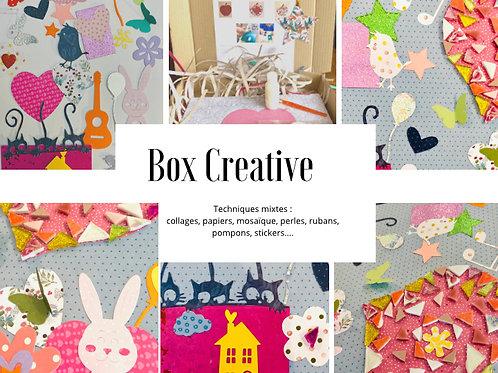 """BOX CREATIVE ENFANTS """"Mosaique, collages ..."""""""