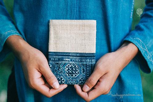 Passport Cover Batik-Hemp