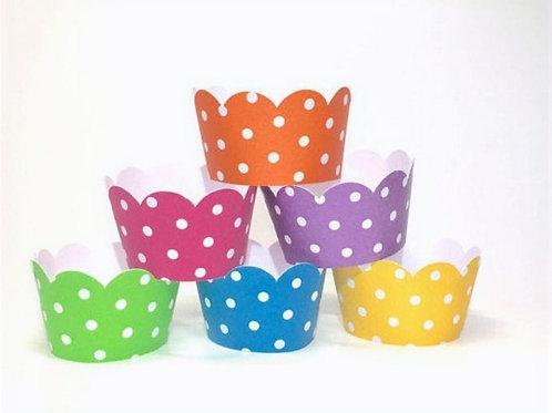 Scalloped - Cupcake Wrapper