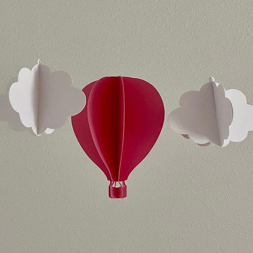 Hot Air Baloon 3D - Decoration