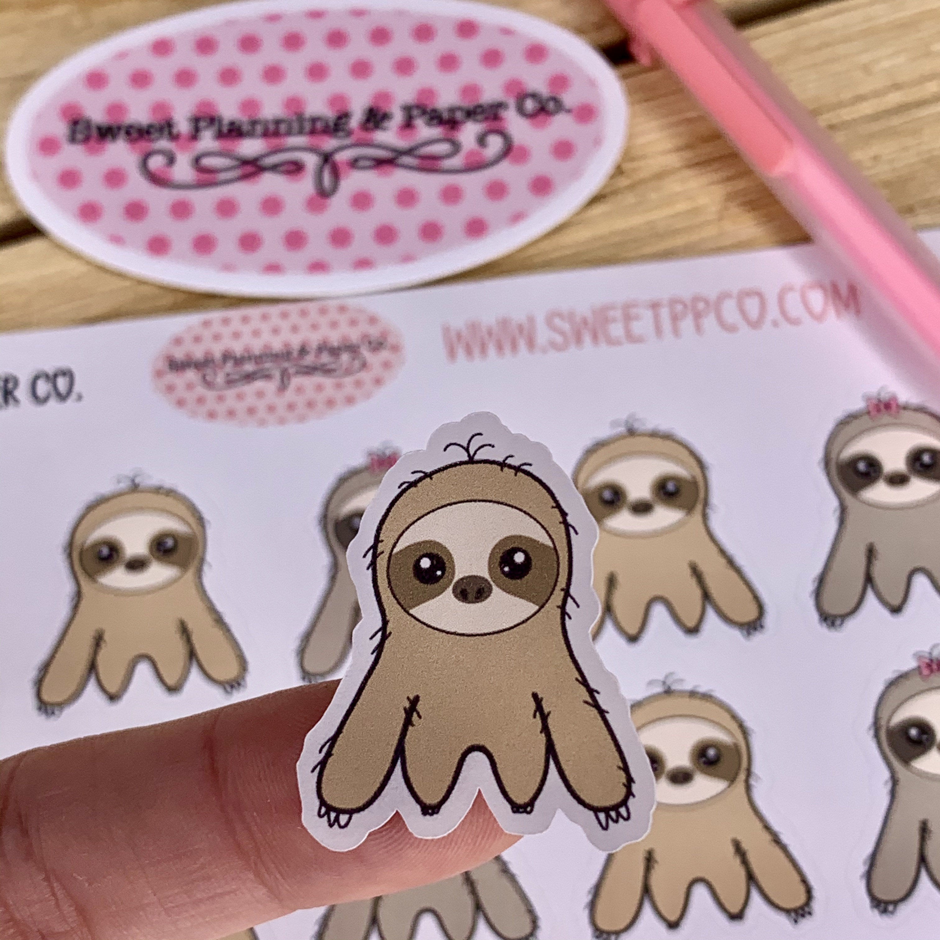 cute_sloth_planner_sticker_1