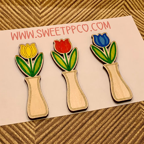 Tulip Magnet | Refrigerator Magnet | Decorative Ornament