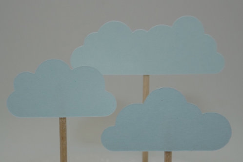 Cloud - Cupcake Topper