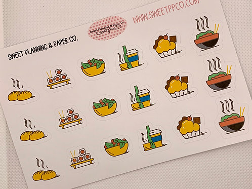 Japanese Food - Planner Stickers
