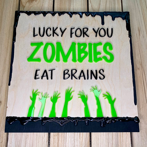 Sign - Zombies
