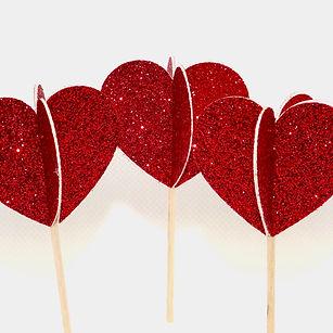 heart_3D_glitter_cupcake_topper_2
