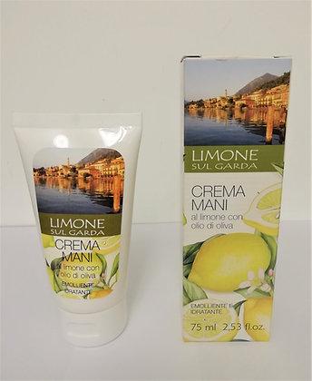 Crema mani al limone 75ml