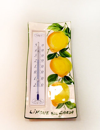 Termometro Ceramica dec. Limoni