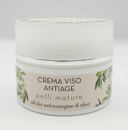 Crema viso antiage olivo 50ml