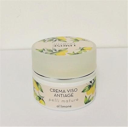 Crema viso antiage al limone 50ml