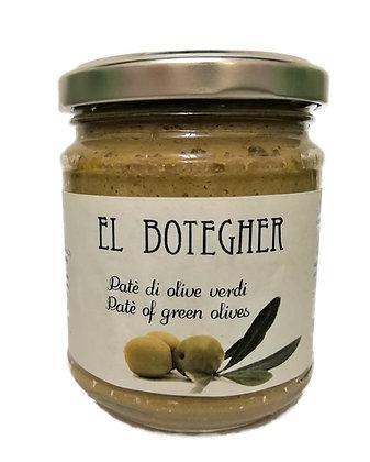 Patè di olive verdi 180g