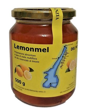 Miele multiflora ed olio essenziale al limone - 500g