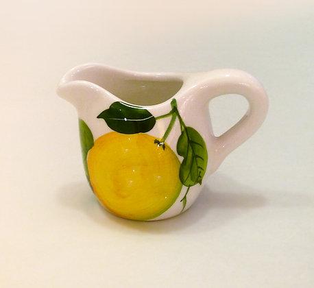 Brocca ceramica dec Limoni