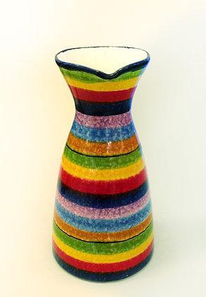 Brocca multicolore ceramica