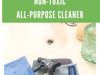 DIY Non-Toxic All-Purpose Cleaner