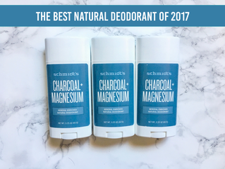 The Best Natural Deodorant of 2017: Schmidt's Naturals Charcoal and Magnesium *Updated 2018*
