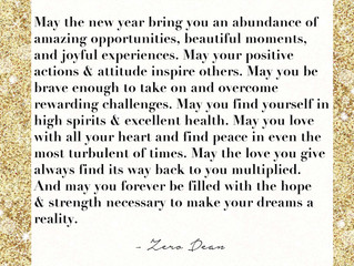 Happy New Year! Cheers to a 2017 filled with Abundance, Health, and Positive Vibes!