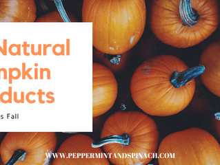 13 Natural Pumpkin Products To Try This Fall 2017