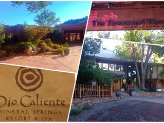 Quick Trip to New Mexico Recap: It was Spa-rific! Ojo Caliente and Ten Thousand Waves Saps included.