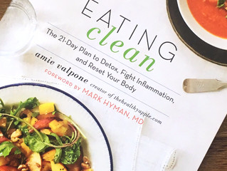 Meeting Amie Valpone at Expo West, Author of Eating Clean: The 21-Day Plan to Detox + GIVEAWAY! Win
