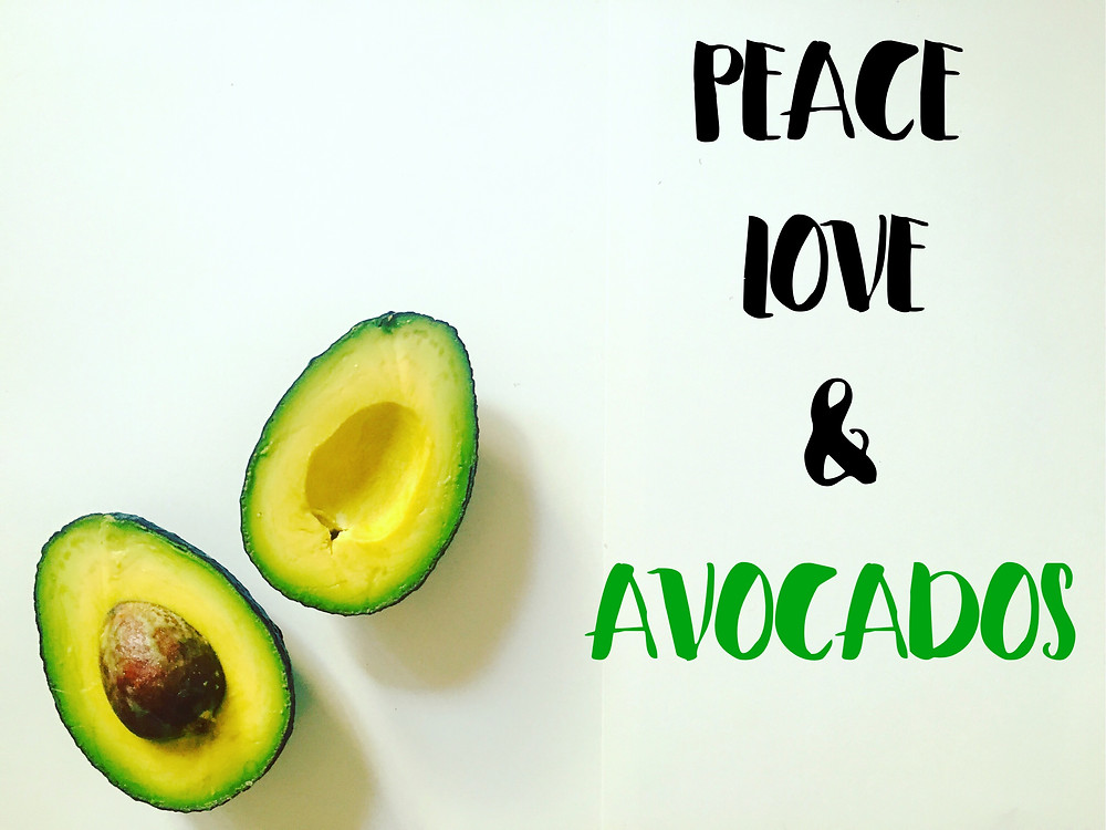 Avocados, Mindful Monday, Peace Love & Avocados