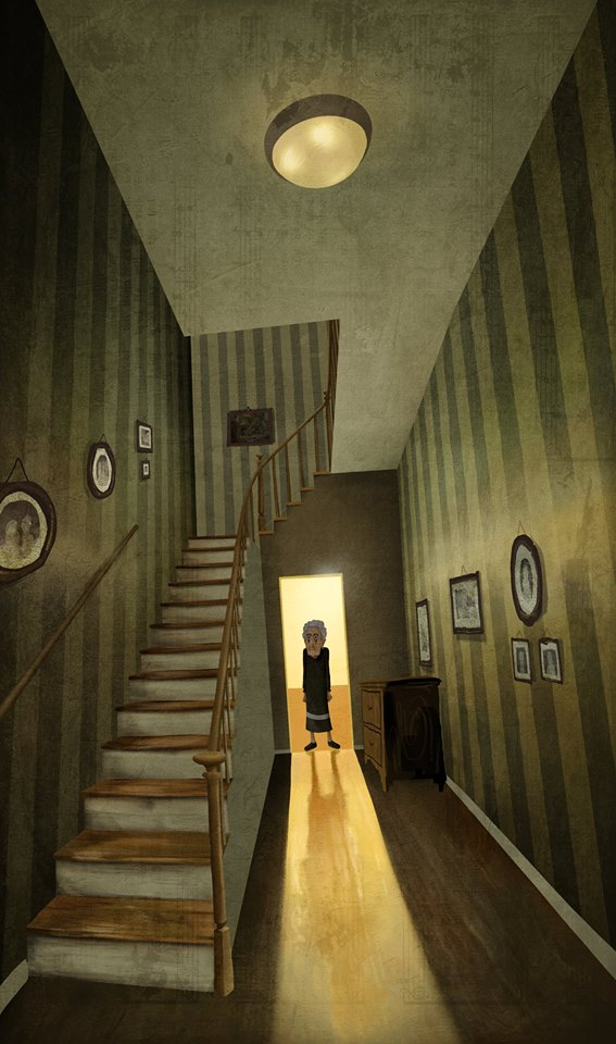 Nona's hallway