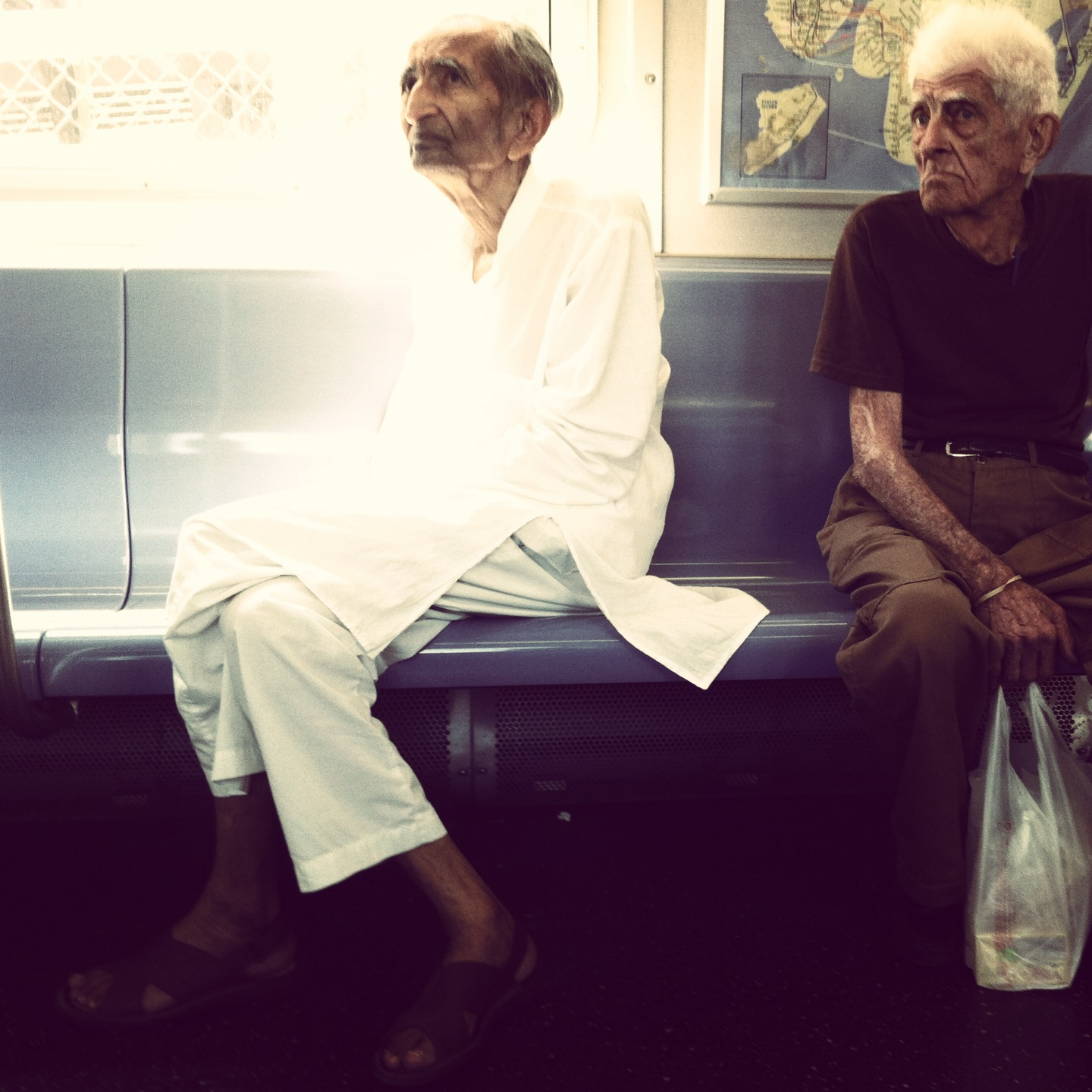 Old Strangers on the Subway 2