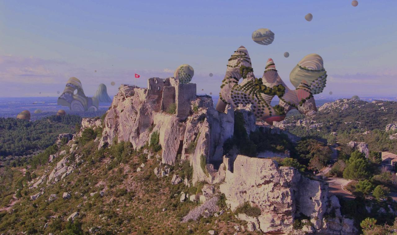 boulders rising