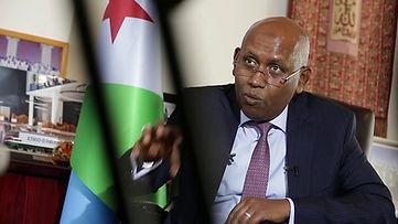 Djibouti Minister of Finance Iiyas Mouss